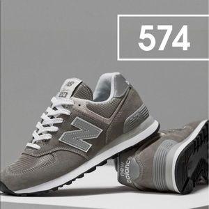 New Balance Grey Classics 574